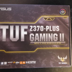 Hovedkort – ASUS TUF Z370-Plus Gaming II, S1151